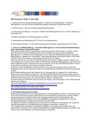 DBS Newsletter 7/2008, 18. April 2008 1. Interessantes beim ...