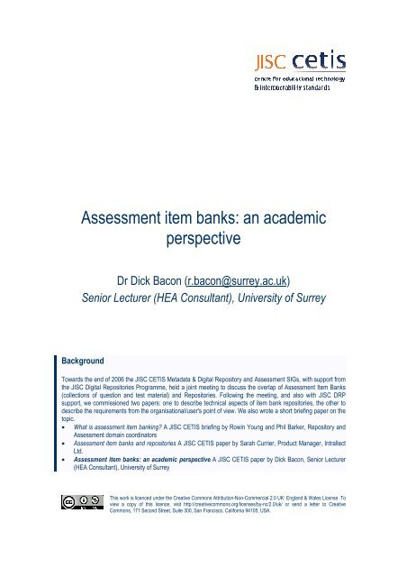 Assessment Item Banks An Academic Perspective Pdf Cetis Wiki Your character orders his/her men to put the braavosi eutimio through his paces. www yumpu com