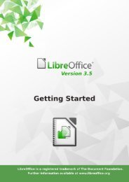 Getting Started with LibreOffice 3.5 - The Document Foundation Wiki