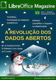 Revista LibreOffice Magazine - 4Shared
