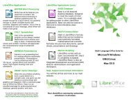 Trifold brochure Template - The Document Foundation Wiki