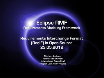 Eclipse RMF