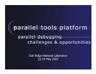 parallel debugging challenges & opportunities