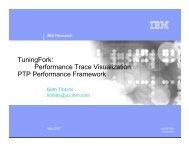 TuningFork: Performance Trace Visualization PTP Performance ...