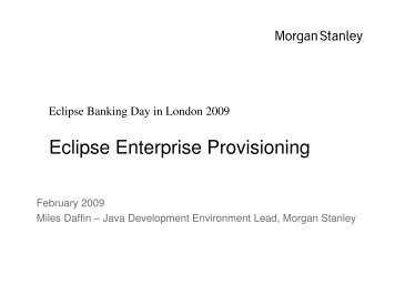 Eclipse Enterprise Provisioning