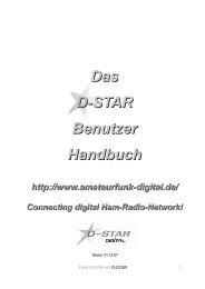 D-STAR Handbuch von DM7DR - OE Wiki