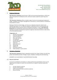 TKD Company Profile - Wiki Village