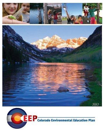 Colorado Environmental Education Plan - Colorado Division of Wildlife