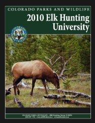 EHU 2010 eBook - Colorado Division of Wildlife