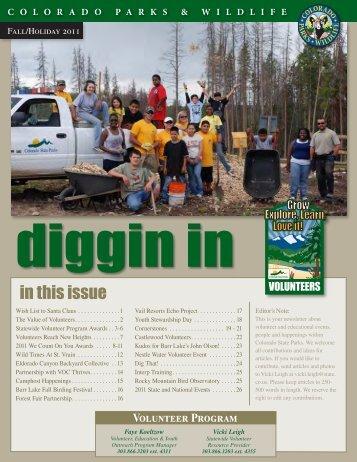 2011 Fall/Holiday - Colorado Division of Wildlife