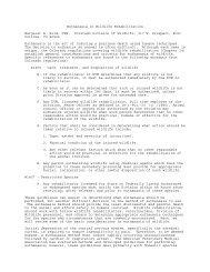 Euthanasia in Wildlife Rehabilitation - Colorado Division of Wildlife