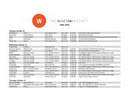 CMJ 2012 - The Windish Agency