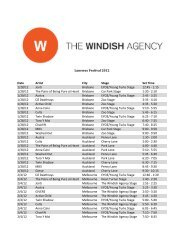 here - The Windish Agency