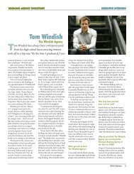 Tom Windish - The Windish Agency