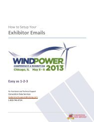 Free Exhibitor Emails