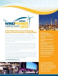 the Major Players in the Wind Energy - Atlanta/GACC South