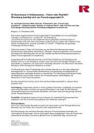 20 Geschosse in Holzbauweise - Rhomberg Bau Gmbh