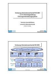 InfoWi SS 03 LE 10.pdf - Lehrstuhl für Wirtschaftsinformatik