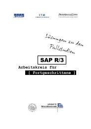 SAP R/3 - Lehrstuhl für Wirtschaftsinformatik