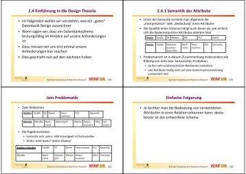 Minimale Überdeckung – Beispiel - WINFOR