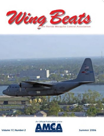 Wing Beats Volume 17 Number - Wing Beats - Florida Mosquito ...