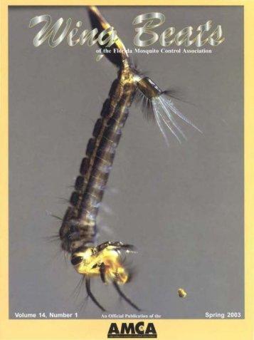 21 - Wing Beats - Florida Mosquito Control Association