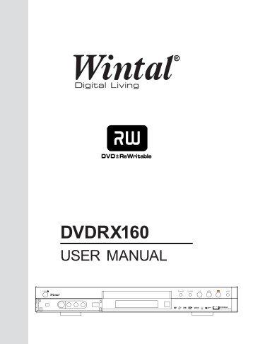 DVDRX160 - Wintal