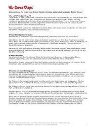 Informationen für Einzel- und Online-Händler (Inhaber