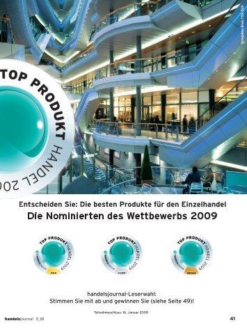 Die Nominierten des Wettbewerbs 2009 - Shopverzeichnis für ...