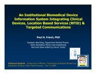 An Institutional Biomedical Device Information System Integrating ...