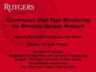 Continuous Vital Sign Monitoring via Wireless Sensor Network