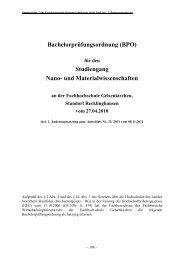 BPO - Wirtschaftsingenieurwesen