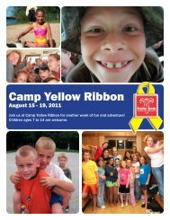 Camp Yellow Ribbon - Wisconsin Service Member Support Division