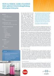 Hailo optimiert Entscheidungsfindung mit arcplan Enterprise