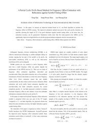 A Partial Cyclic Prefix Based Method for Frequency Offset Estimation ...