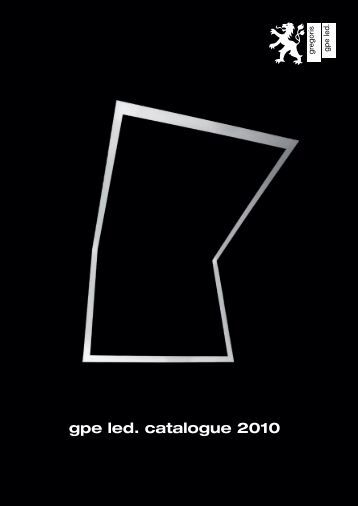 gpe led. catalogue 2010