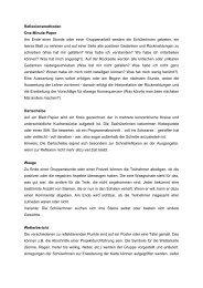 Reflexionsmethoden One-Minute-Paper Am Ende ... - WebQuests