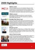 mcsa annual report - Waikato Management School - The University ... - Page 4