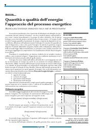 Quantità o qualità dell'energia: l'approccio del ... - It-Concept Gmbh