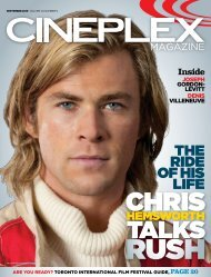 Cineplex Magazine September2013