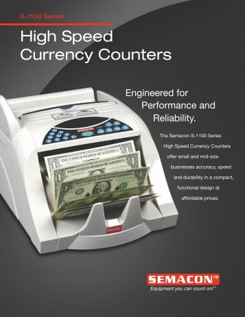 High Speed Currency Counters - World Micrographics, Inc
