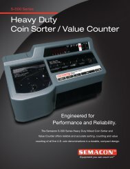 Heavy Duty Coin Sorter / Value Counter - World Micrographics, Inc