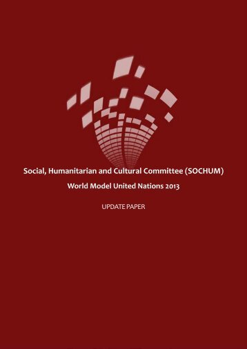 SOCHUM Update Paper - World Model United Nations