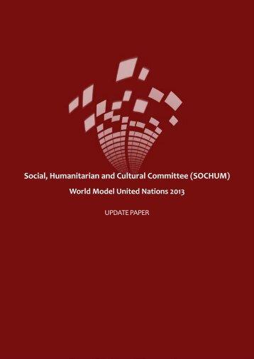 SOCHUM Update Paper - World Model United Nations