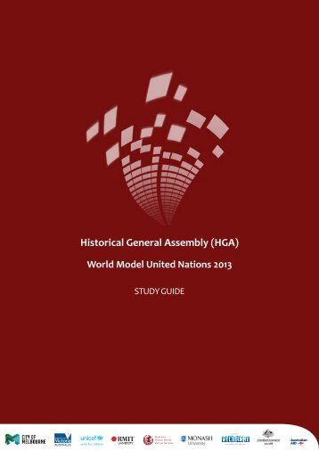 Historical General Assembly (HGA) - World Model United Nations