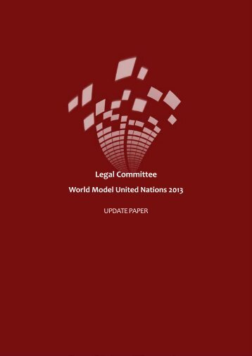Legal Update Paper - World Model United Nations