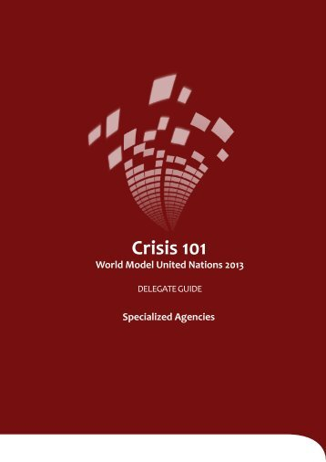 Crisis 101 - World Model United Nations