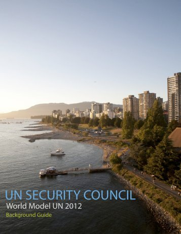 UN SECURITY COUNCIL - World Model United Nations