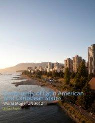 Update Paper - World Model United Nations