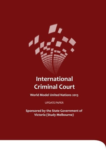 ICC Update Paper - World Model United Nations